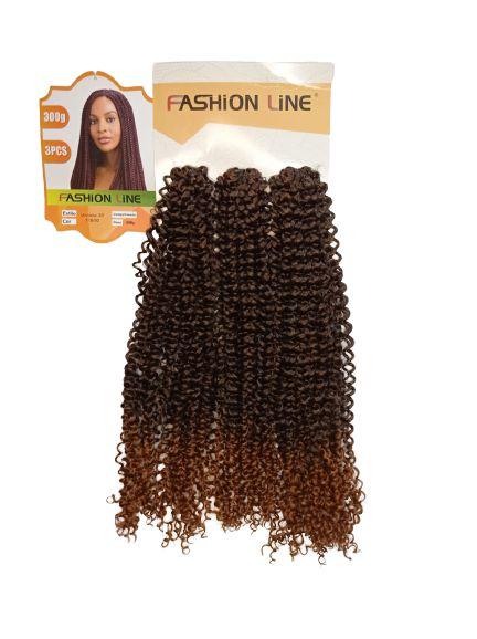 CABELO   Viviana 300GR ( COR T1B/30 Preto com ombre hair  cobre)