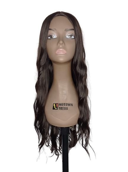 Peruca Rachel ( cor 4 castanho ) 280g -Morden Girl + Touca Wig Cap