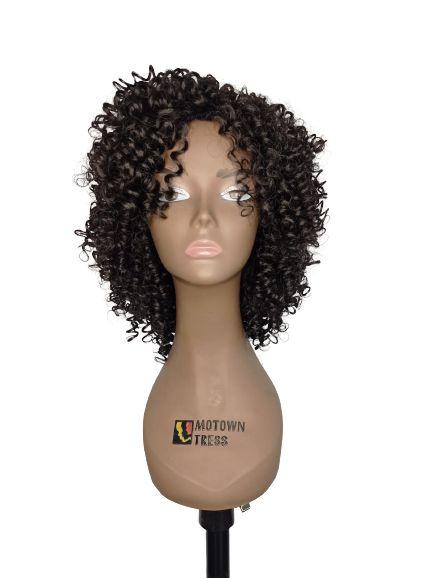 PERUCA MAVIS - MODERN GIRL ( COR 1 -preto )+ Touca Wig Cap