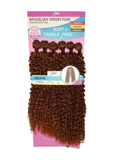 Cabelo Leila XL 260g (cor T4+340/27+30  LOIRO MEL )- Brazilian Virgin Hair