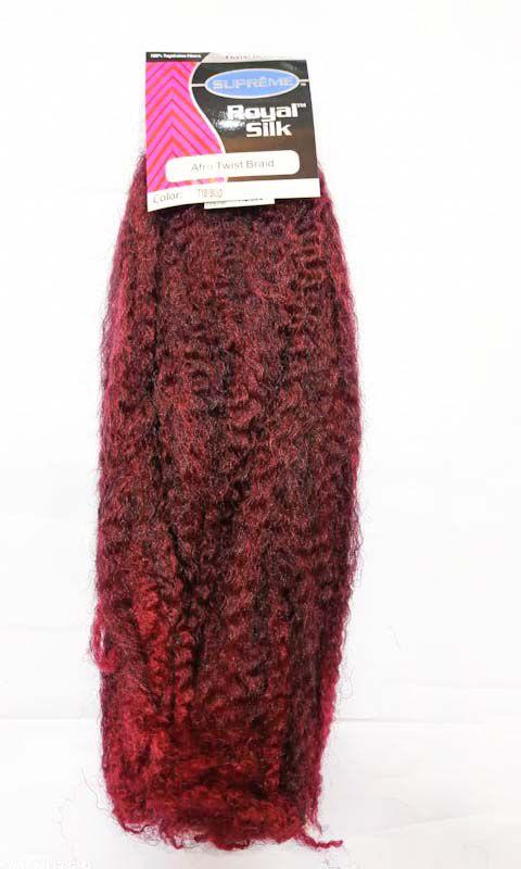 Marley Afro Twist 110g - Cherey ( cor T1B/BUG - PRETO COM VERMELHO CEREJA)