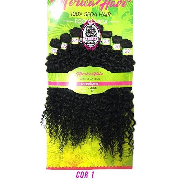 Cabelo Gloss - Mérica Hair ( Cor 1 PRETO )