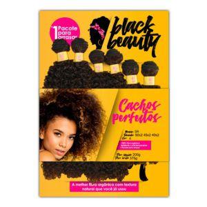 Cabelo Cachos Perfeitos 0A  - Black Beauty ( Cor 4 - Castanho )