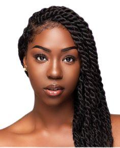 HAVANA MAMBO TWIST - Black Beauty (cor 1B - Preto)