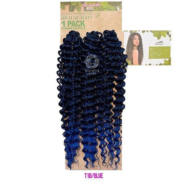 Cabelo Milla 350g (Pacotão) - True Me ( cor 1B/Blue - Preto + Azul)