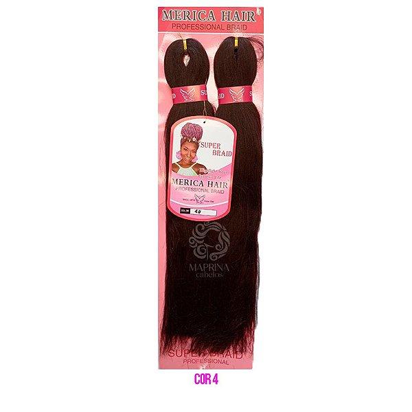 Jumbo Merica Hair 165g - Super Star (cor 4 - Castanho)