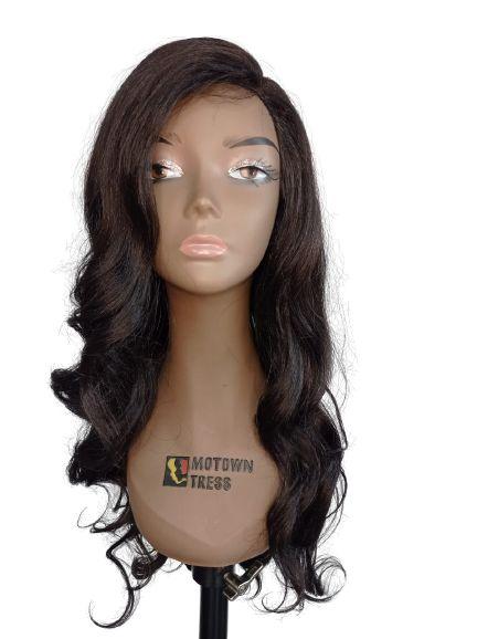 Peruca Front Lace Bruna - TrueMe ( COR 2 - CASTANHO ESCURO )+ Grátis uma touca Wig