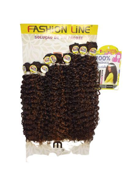 Cabelo O'linda (Olinda) – Fashion Line(COR SP2/4/30 Castanho escuro + castanho + loiro escuro)