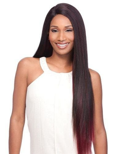 Cabelo Alba Brazilian Virgin Hair ( cor T1B/530 - Preto + Marsala)