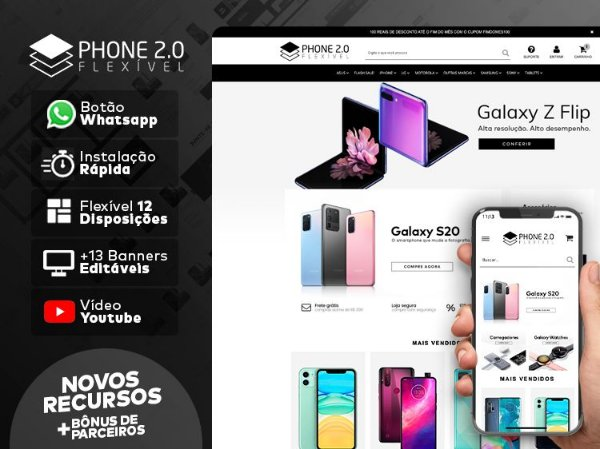 Tema Flexível - Phone 2.0 | Loja Integrada
