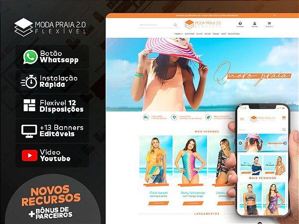 Tema Flexível - Moda Praia 2.0 | Loja Integrada