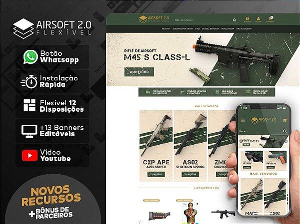 Tema Flexível - AirSoft 2.0 | Loja Integrada