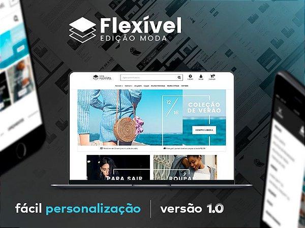 Tema Flexível - Moda | Loja Integrada