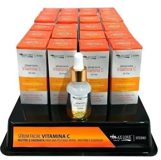Sérum Facial Vitamina C Oil-Free Max Love 24 Unidades