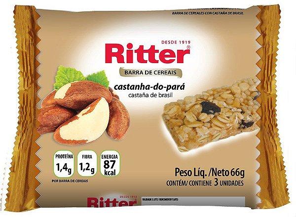 Barra de Cereal de Castanha do Pará - 3un