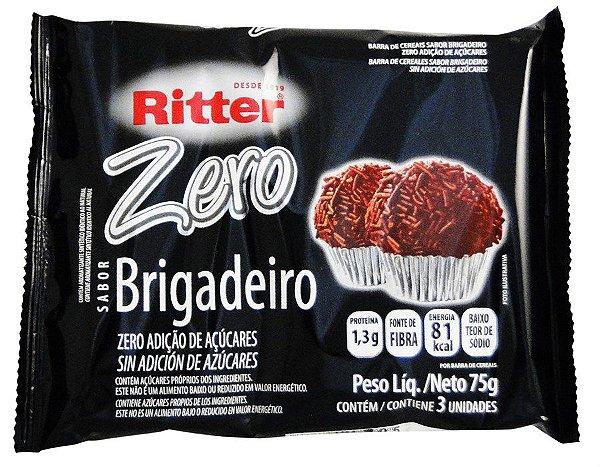 Barra de Cereal de Brigadeiro Zero Açúcar - 3un