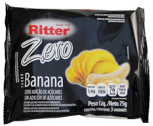 Barra de Cereal de Banana Zero Açúcar - 3un