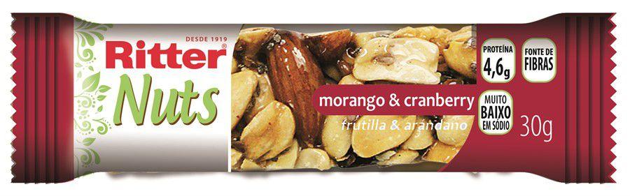 Barra Nuts Morango e Cranberry - 2 un
