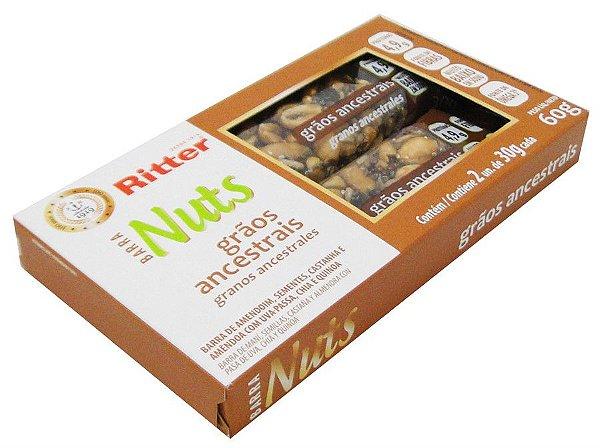 Barra Nuts de Grãos Ancestrais - 2un