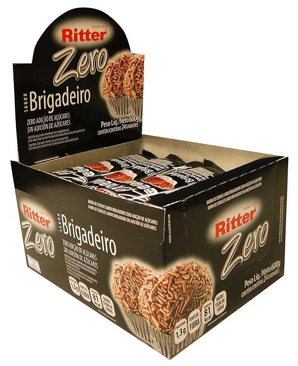 Barra de Cereal de Brigadeiro Zero Açúcar - Display com 24 un