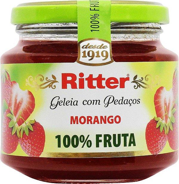 GELEIA 100% FRUTA MORANGO 290g