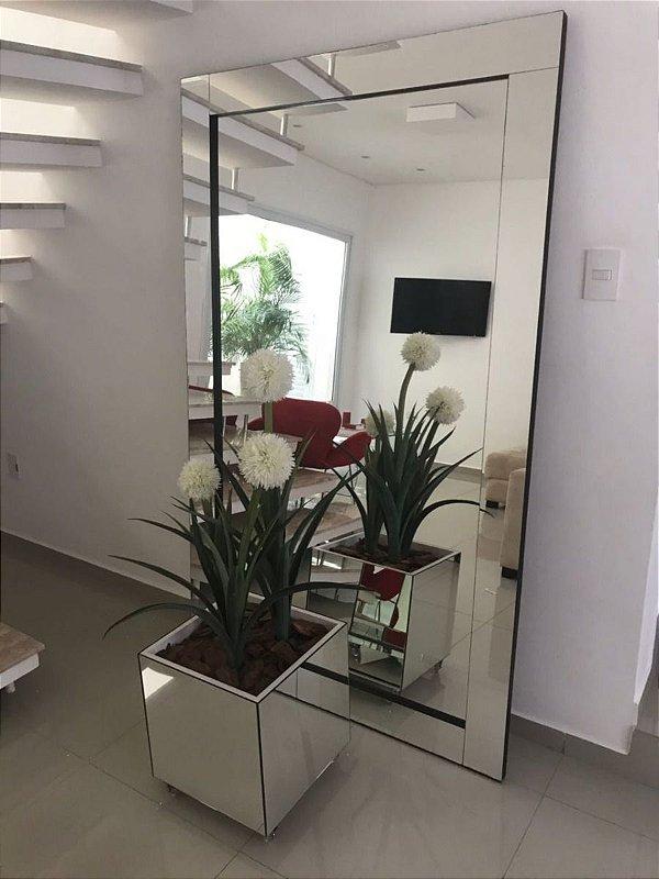 Espelho de Piso lapidado 200x100