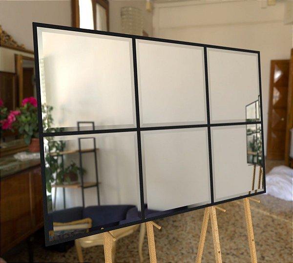Espelho Decorativo com bisotê 140x100