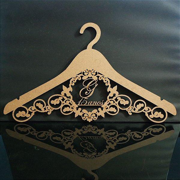 Cabide Personalizado com os Nomes dos Noivos Casamento ou Debutante