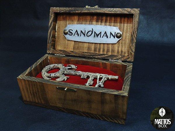 A chave do inferno (key to hell) - Sandman - Linha definitiva