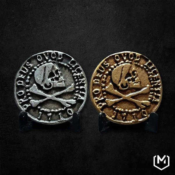 Moeda pirata - Uncharted 4: A Thief's End - Display conjunto