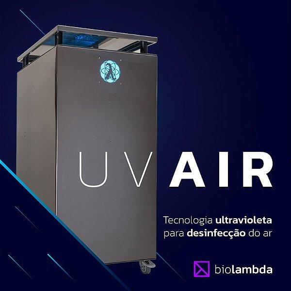 UV AIR 500   Purificador de Ar Industrial