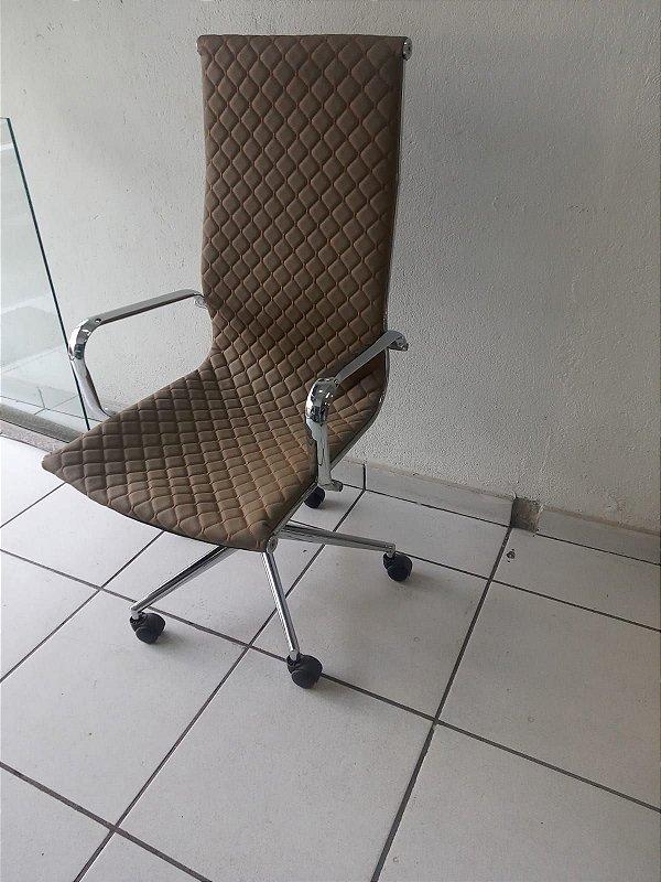 Cadeira Giratória para escritório em Aço Inoxidável