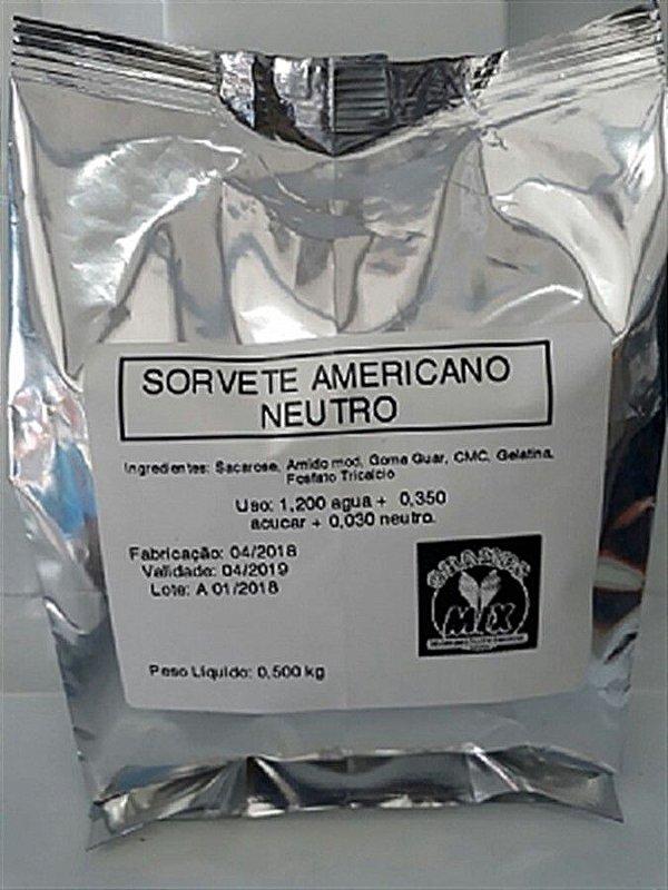Base Mix Sorvete Americano NEUTRO