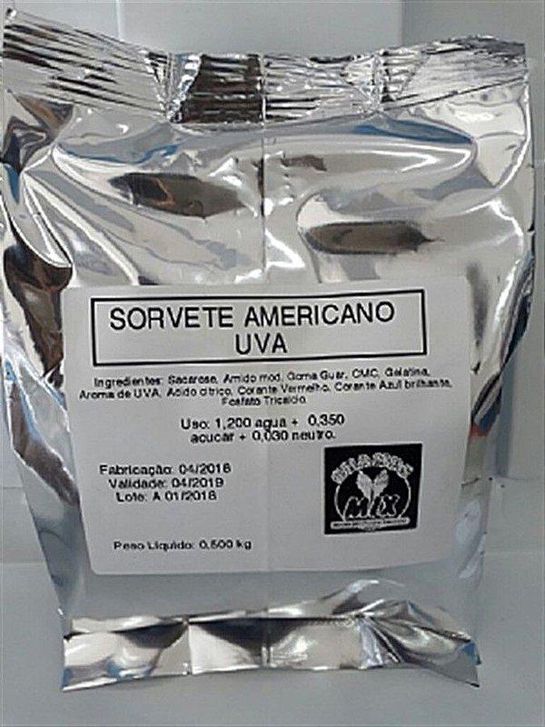 Base Mix Sorvete Americano UVA