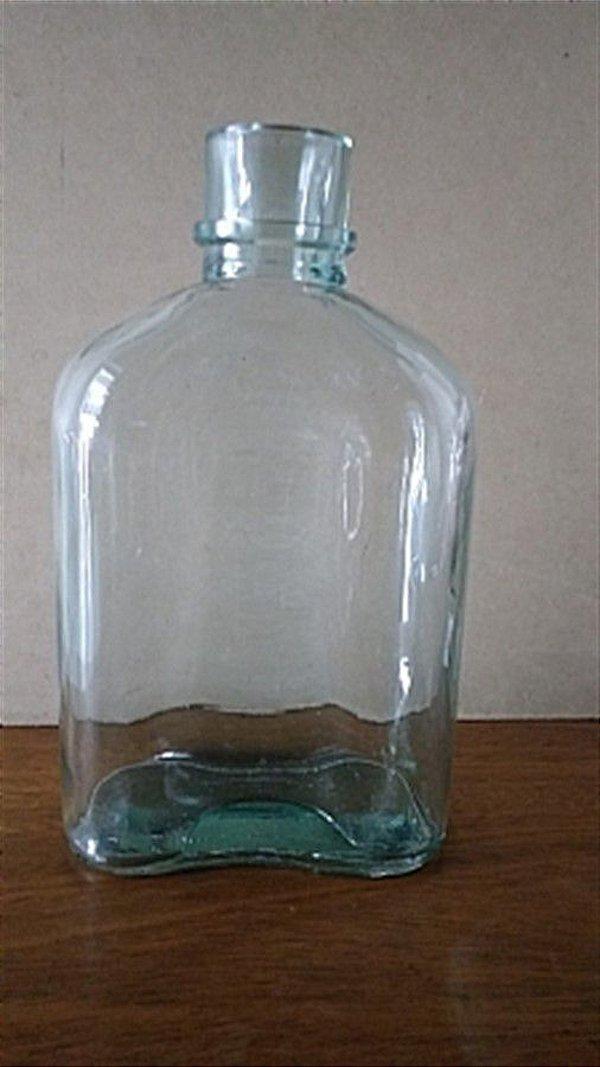 Garrafa vidro - BOCA LISA