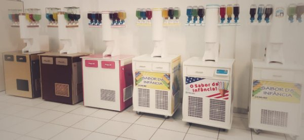 Maquinas de sorvete Americano Champ´s