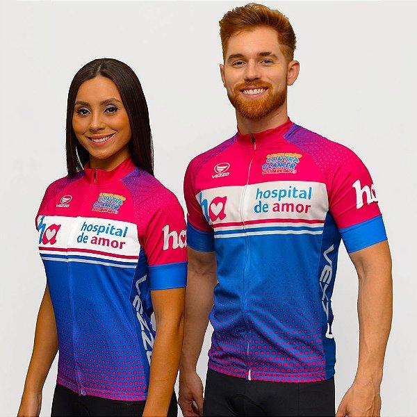 Camisa Ciclismo MTB Vezzo/Hospital de Amor - Feminina e Masculina