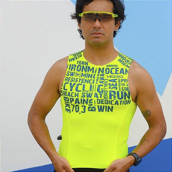 Top Triathlon Masculino Vezzo AWA