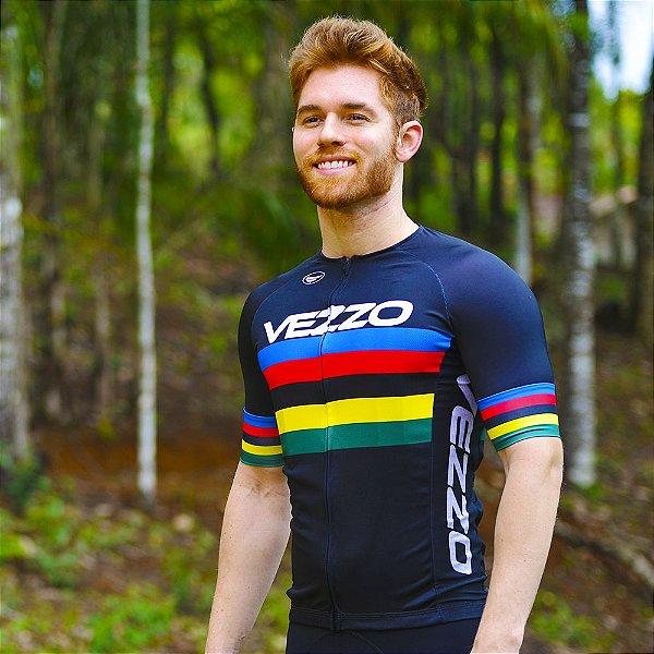 Camisa Vezzo Elite World Champion Preta