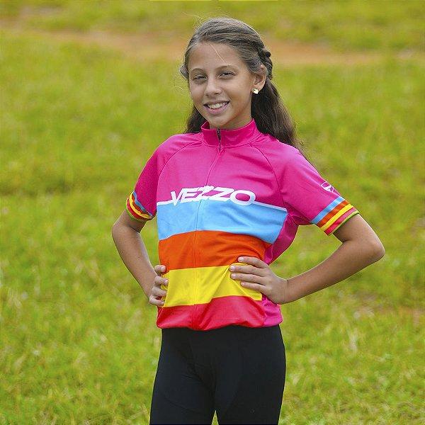 Camisa Vezzo Elite Infantil Colors