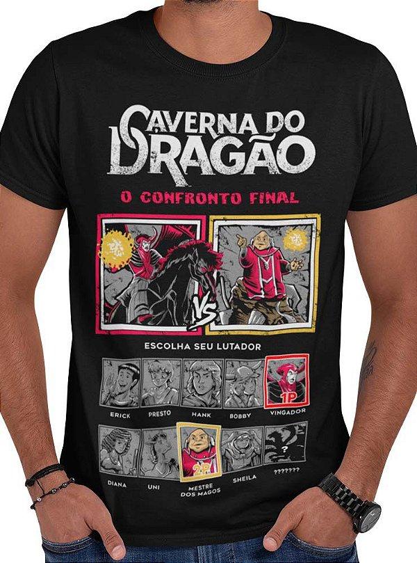 Camiseta Caverna do Dragão - O Confronto