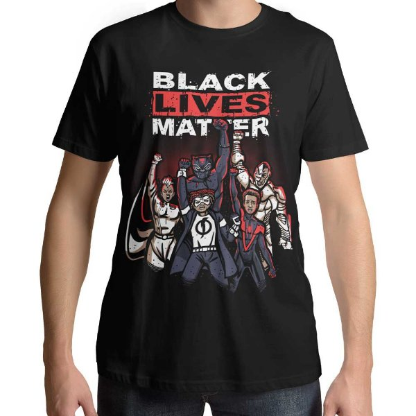 Camiseta Black Lives Matter