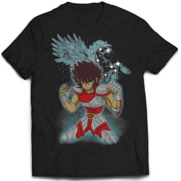 Camiseta Cavaleiro dos Zodíaco - Seya Pegasus