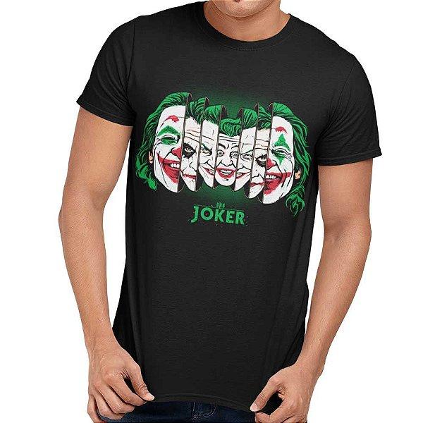 Camiseta Coringa - Joker Faces