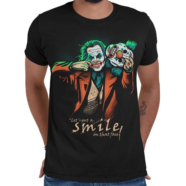 Camiseta Coringa - Joker Mask