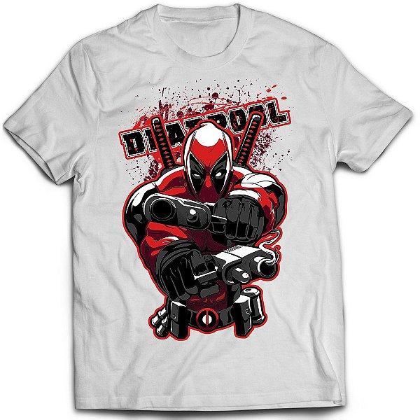Camiseta Deadpool - Guns