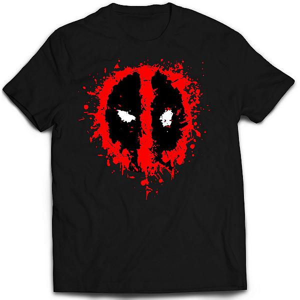 Camiseta Deadpool - Splash