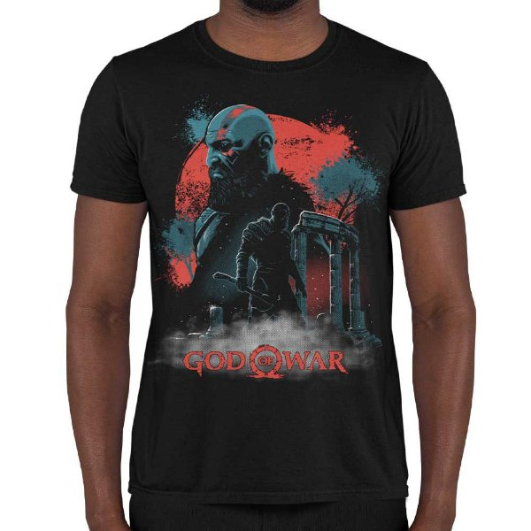 Camiseta God od War - Tribute to God
