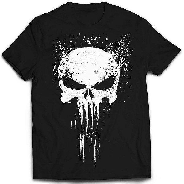 Camiseta Justiceiro - Emblem Of Punisher