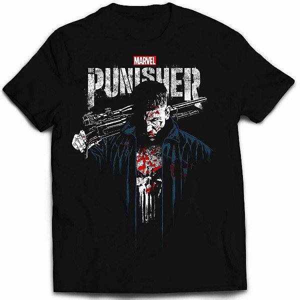 Camiseta Justiceiro - The Punisher